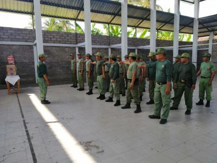 Pelatihan Untuk Peningkatan Kapaditas Perlindungan Masyarakat (linmas)