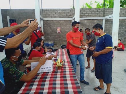 Pendistribusian Bantuan Langsung Tunai Dana Desa (BLT-DD) Tahap II Desa Banjarasem