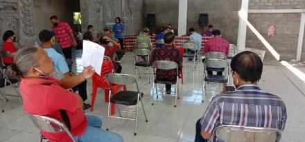 Pelaksanaan Musyawarah Desa Tentang RKP Desa Banjarasem Tahun 2021