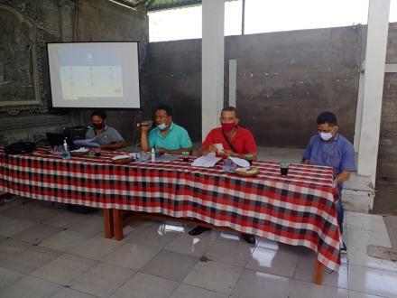 Pembentukan Tim Relawan Pokja Pendataan SDGS Desa dan BimTek Aplikasi SDGS Desa