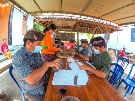 pemerintah Desa Banjarasem Dukung Penuh Konservasi Lontar