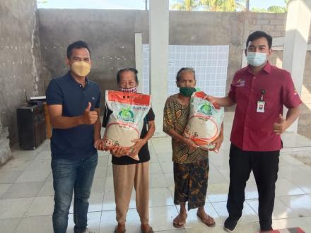 Pemdes Banjarasem Realisasikan Bantuan Sosial Beras Kemetrian RI sebanyak 548 Paket