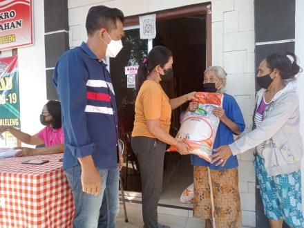 Realisasi Bantuan Sosial Beras (BSB)  dari Kementrian Sosial RI untuk KPM BPNT
