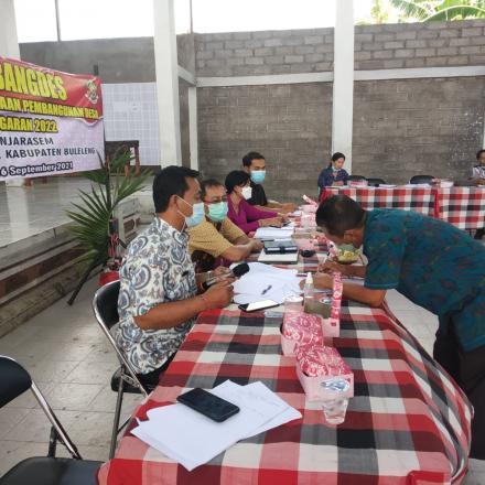 Musyawarah Pembangunan Desa Banjarasem Tahun 2021