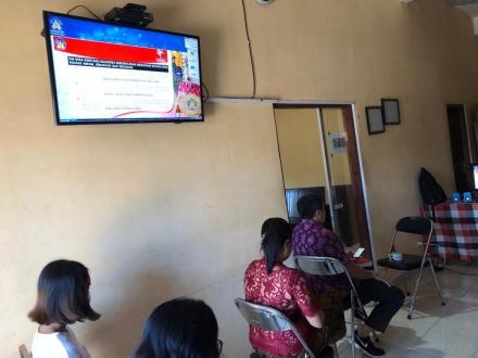 Webinar Pencanangan Pelaksanaan Program Desa Kerthi Bali Sejahtera